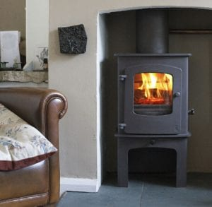 Charnwood Flue Boiler With Cove 1